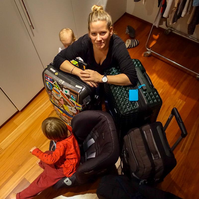 Packen für die die ganze Familie